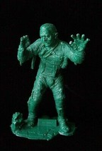 Universal Studios Monsters Marx Monster Figure Mummy dark green halloween - $28.99