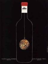 Bordeaux Signe Ginestet 1971 Wine AD Christmas Wine Bottle - $10.99