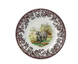 Spode Woodland American Wildlife Black Bear Salad Plate - $23.60