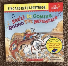 Book CD Reading Music Vocabulary Phonics She'll Be coming Round The Mountain - $7.92