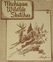 Michigan Wildlife Sketches Bradt, G. W. and Schafer, Charles E.