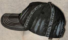John Deere LP49279 Adjustable Black Stone Wash Denim Leaping Deer Logo image 6