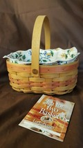 Longaberger 1999 Mother's Day Tea For Two Basket #14931 Liner Protector - $18.00