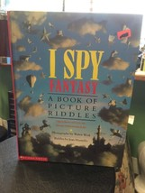 I Spy Fantasy A Book A Picture Riddles By Walter Wick Riddles By Jean Ma... - $10.78