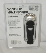 Buffalo Tools FLCR4 Wind Up LED Flashlight Cell Phone Charger image 2