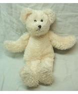 "Boyds NON-JOINTED CREAM TEDDY BEAR 8"" Plush STUFFED Toy - $14.85"