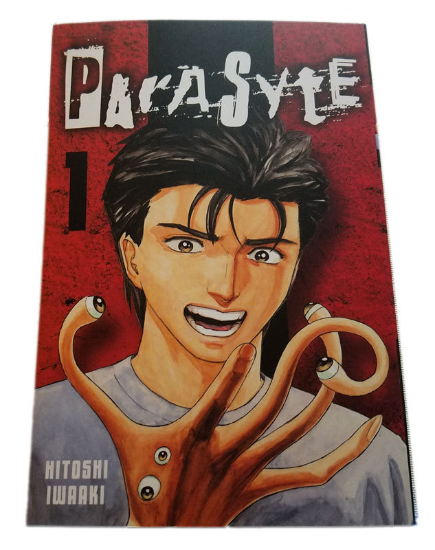 Loot Anime Crate Exclusive Parasyte Vol.1 Collector's Edition w Fairy Tail Story