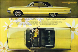 Vintage 1965 2-Page Magazine Ad Chrysler Move Up To Chrysler Never Been Easier - $5.93