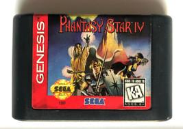 ☆ Phantasy Star IV 4 (Sega Genesis 1994) AUTHENTIC Game Cart Tested Works ☆ - $61.99