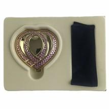 Estee Lauder Vintage Pink Ribbon Compact Lucidity Translucent Pressed Po... - $32.59