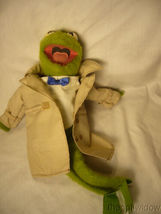 Kermit Muffet Doll Polyester no. 857 Fisher Price  image 4