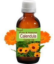 Calendula Oil- Pure & Natural Carrier Oil- 15ml Calendula officinalis by Bangota - $10.47