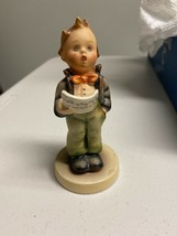 Vintage Goebel Hummel Soloist#135 TMK-3 Boy Singing Porcelain Figurine - $32.73