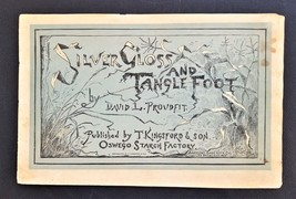 antique KINGSFORD STARCH ad STORY BOOK proudfit SILVER GLOSS and TANGLE ... - $48.50