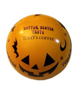 "Tully's Coffee ""Tully's Halloween"" Tin Pumpkin Round Container - $2.88"