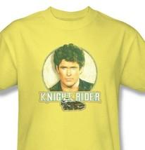 Knight Rider T-shirt Free Shipping 1980's Hasselhoff K.I.T.T. cotton tee NBC494 image 2