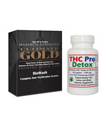 THC Pro Detox, 2 Days To Cleanse, & Biowash Detox Hair Shampoo, Conditioner - $34.95