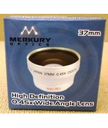 Merkury Optics CL-37WS 37mm High Definition 0.45x Wide Angle Lens - $34.51