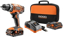 Cordless Drill Driver 1/2 Compact Kit 18-Volt With Batteries Charger - $178.19