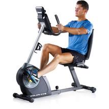 Adjustable Recumbent Exercise Bike Magnetic w Track Fitness Progress iFi... - $358.73