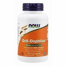 NOW Supplements, Gr8-Dophiluswith 8 Strains & 4 Billion Potency, Shelf Stable... - $25.89