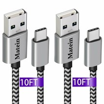 Usb C Charger Cable,(10Ft 2 Pack) For Samsung Galaxy S9 Plus Charging Cable - $16.82