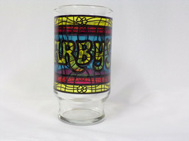 ORIGINAL Vintage 1970s Arby's Stained Glass 12 oz Drinking Glass - $12.19