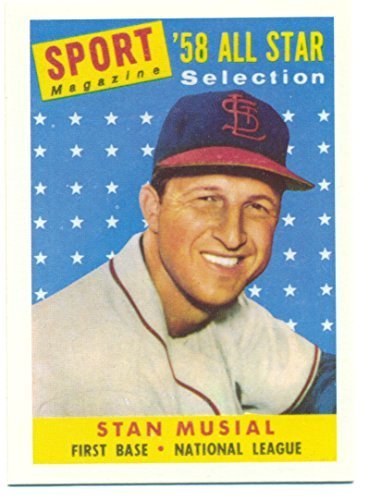 1991 Topps Stan Musial 1958 Reprint from the 1991 East Coast National - Baseball
