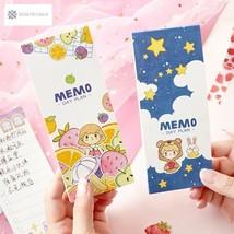 30 Sheets Kawaii Little Girls Portable Planner Notebook To Do List Schoo... - $5.17 CAD