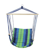 "Northlight 23"" x 39"" Multi-Color Stripe Pattern Hammock Padding Wooden A... - $63.10"