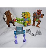 TMNT Teenage Mutant Ninja Turtle Vtg Figure Lot Scale Tail Snake Splinte... - $37.50