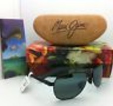 MAUI JIM GUARDRAILS Sunglasses MJ 327-02 Black Frames with Grey Polarized Lenses