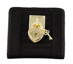 Juicy Couture SFP Quilted Mini Wallet, Black - $24.74