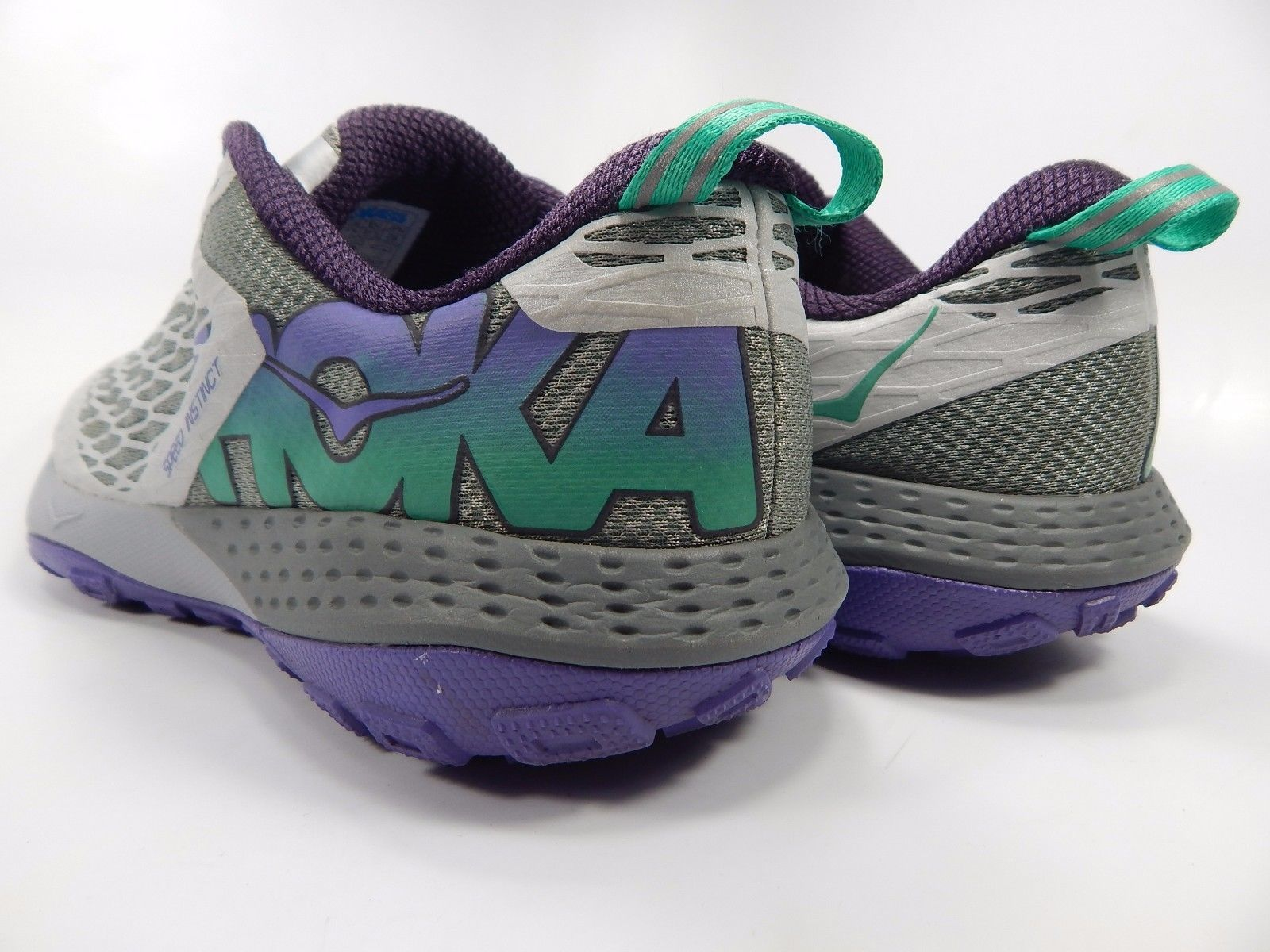 Hoka One One Speed Instinct Women's Trail Running Shoes Sz US 9 M (B) EU 41 1/3