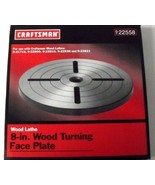 "Craftsman 22558 8"" Wood Turning Face Plate - $9.90"