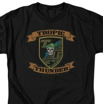 Tropic Thunder t-shirt action comedy war movie 100% cotton graphic tee PAR219 image 2