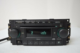 2004-2010 CHRYSLER DODGE RADIO CD AUX IPOD N (FOR PARTS) P05064173AH C34... - $24.75
