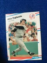 Baseball Trading Card Fleer 1988 #216 Mike Pagliarulo (SS63) - $4.17