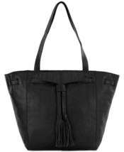The Sak Huntley Tassel Handbag Tote (Black, One Size) - $98.01