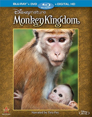 Disney Disneynature: Monkey Kingdom (Two-Disc Blu-ray/DVD Combo)