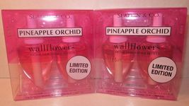 2 bx Bath & Body Works Wallflower Diffuser Refill Bulb  Pineapple Orchid... - $34.99