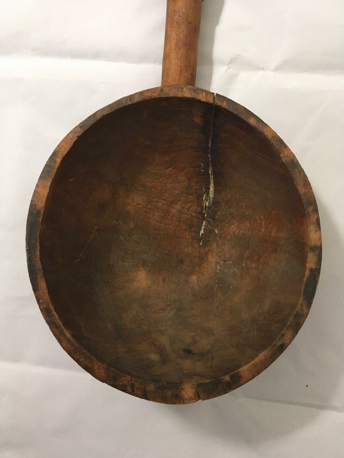 Antique Large Wooden Laddle