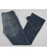7 For All Mankind A Pocket Boot cut jeans USA Made Womens Size 26 - $24.70