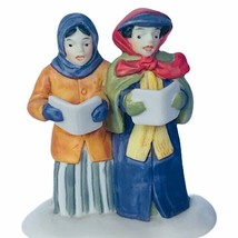 Department 56 Heritage village Christmas figurine 5580-8 vendor carolers... - $16.40
