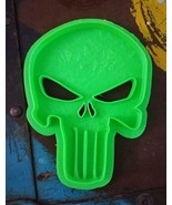 3D Printed Cookie Cutter Inspired by Marvels Punisher Emblem - $8.91