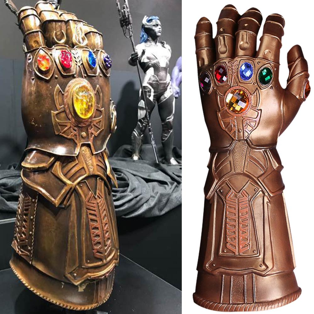 1. thanos infinity gauntlet avengers infinity war thanos glove prop new
