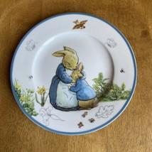 Beatrix Potter Peter Rabbit Porcelain Easter SALAD Plate NWT - $11.88