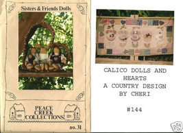 CRAFT PROJECT PATTERNS  WALL HANGING  DOLLS PEACE CREEK - $5.93