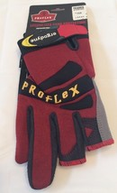 Ergodyne 720 ProFlex Trades Gloves Red/Black/Yellow Size L (03) - $12.38