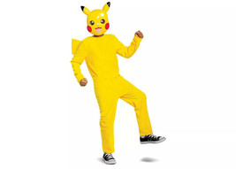 Kids' Pokemon Pikachu Halloween Costume Jumpsuit Size: M (7-8) - $12.86